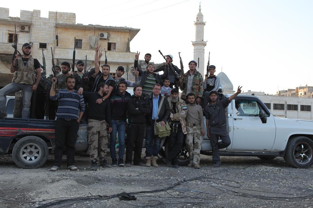 На территории Свободной Сирийской армии, 2013